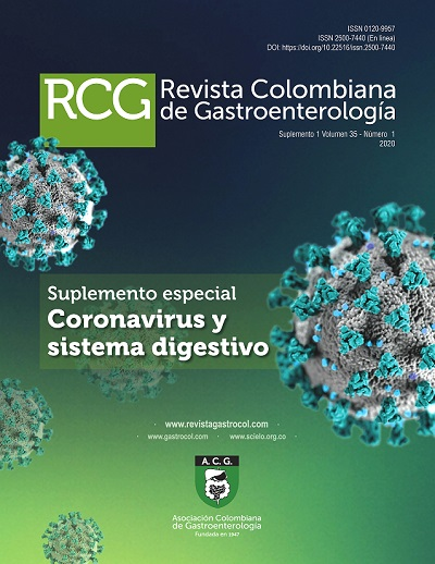 Coronavirus y sistema digestivo